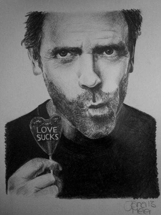 Hugh Laurie par Yanii